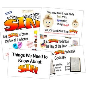 Things We Need To Know About Sin