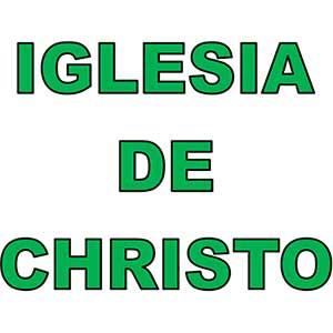 Iglesia de Cristo Letras