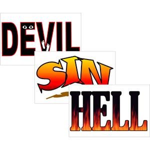 Devil, Sin, and Hell