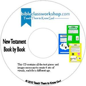 New Testament Book by Book CD