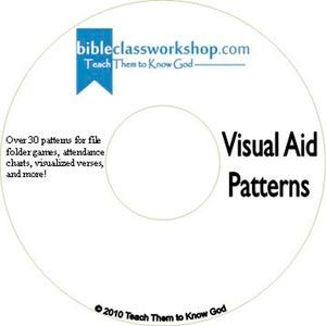 Visual Aid Pattern CD