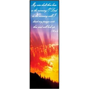 Psalm 5:3 Bookmark