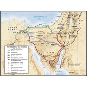 The Route of the Exodus