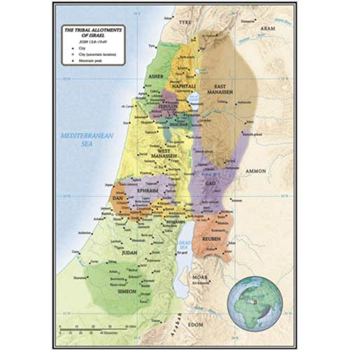 The Tribal Allotments of Israel