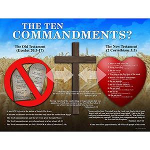 The Ten Commandments?