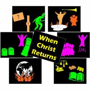 When Christ Returns Blacklight Kit