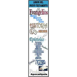 Biblia Biblioteca Nuevo Testamento Marcador
