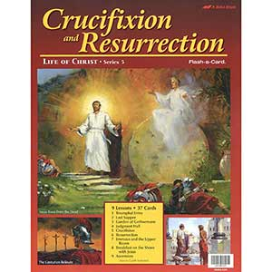 Crucifixion and Resurrection of Christ Flash-a-Cards