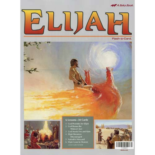 Elijah Flash-a-Cards