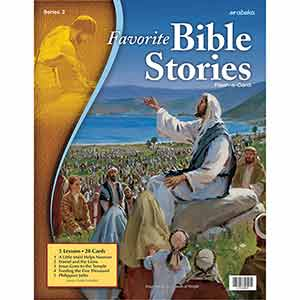 Favorite Bible Stories 2 Flash-a-Cards