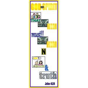 John 4:24 Bookmark