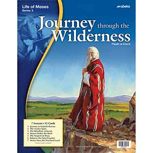 Journey through the Wilderness Flash-a-Cards