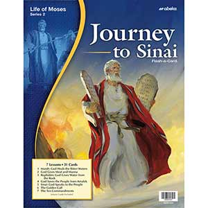 Journey to Sinai Flash-a-Cards