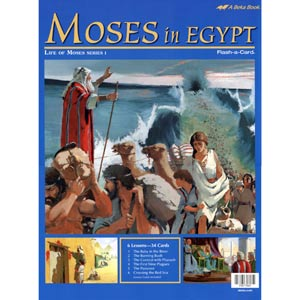 Moses in Egypt Flash-a-Cards