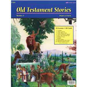 Old Testament Stories 1 Flash-a-Cards