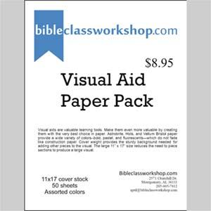 Visual Aid Paper Packs