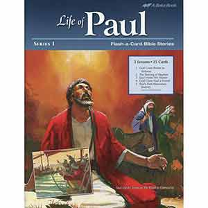 Life of Paul 1 Flash-a-Cards