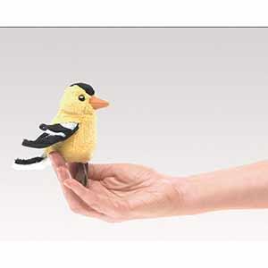 Goldfinch Finger Puppet