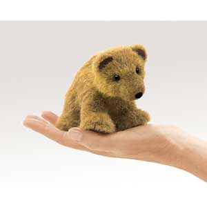 Grizzly Bear Finger Puppet