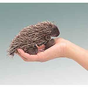 Porcupine Finger Puppet
