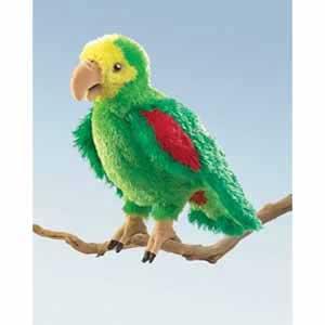 Amazon Parrot Puppet