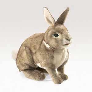 Cottontail Rabbit Puppet