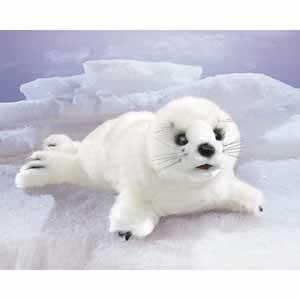 Harp Seal Finger Puppet