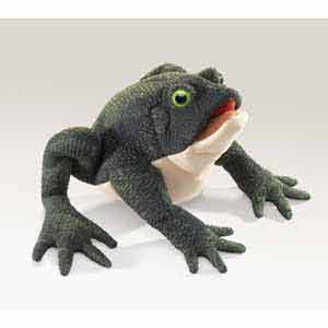 Toad Puppet