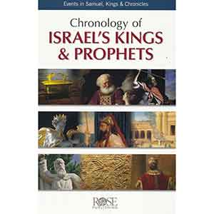 Chronology of Israel's Kings and Prophets Pamphlet
