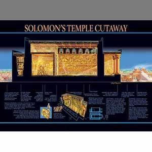 Solomon's Temple Cutaway Wall Chart