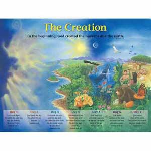 Creation Wall Chart