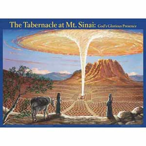 Tabernacle at Mt Sinai: God's Glorious Presence Wall Chart