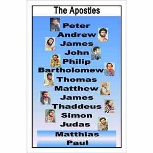 Apostles Poster