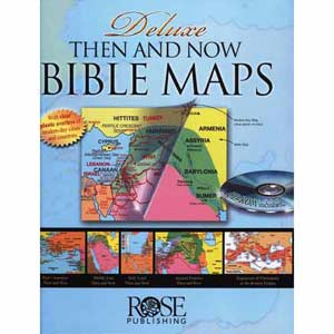 Then and Now Bible Map Book Deluxe