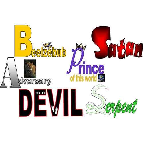 names for satan